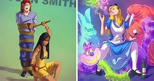 Our Beloved Childhood Characters Turned Into Tarantino ...