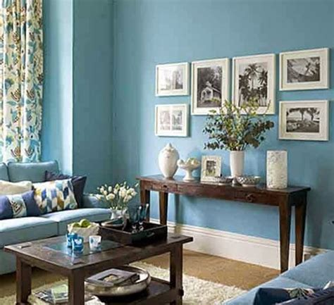 15 refrescantes dise 241 os de salas en color azul