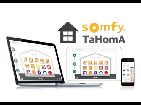 somfy tahoma io homecontrol alutecsk youtube