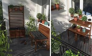 Kleine Wäschespinne Für Balkon : 8 sch ne dekoideen f r kleine balkone ~ Markanthonyermac.com Haus und Dekorationen