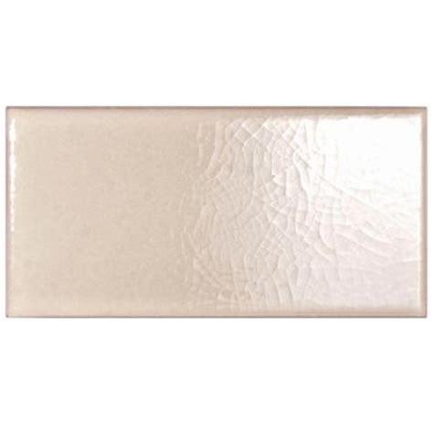 merola tile craquelle pergamon 3 in x 5 7 8 in ceramic