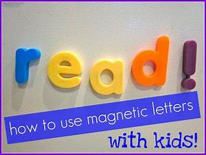 quick trick magnetic letters how to use them with your kids With magnetic letters for toddlers
