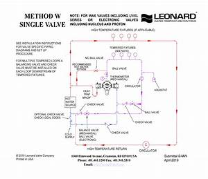 Radiant Mixing Valve Piping Diagram