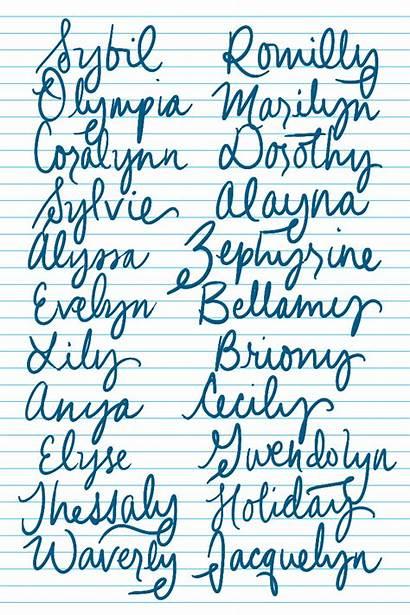 Names Unique Pretty Imgur Gorgeous Middle Writing