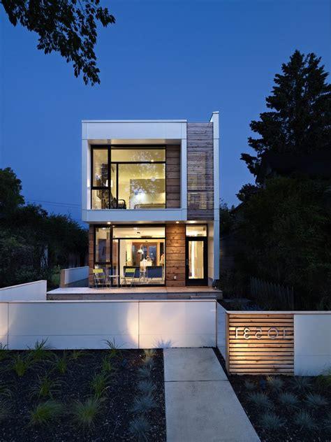 house exterior modern with porch contemporary planter
