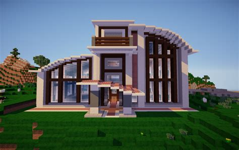 modern houses in minecraft 3 creative mode