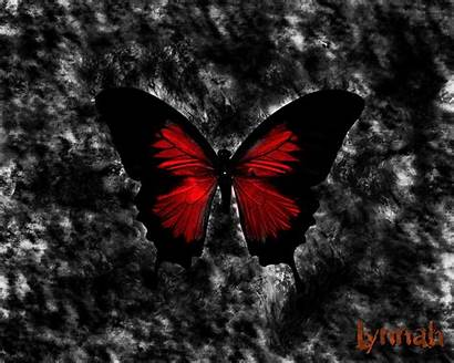 Gothic Dark Wallpapers Butterfly Goth Backgrounds Wall