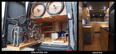 bicycle rack project cargovanconversioncom