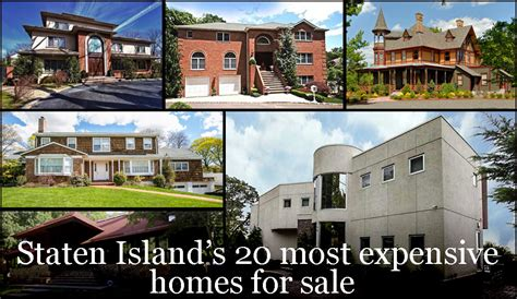 Staten Island's 20 Most Expensive Homes For Sale