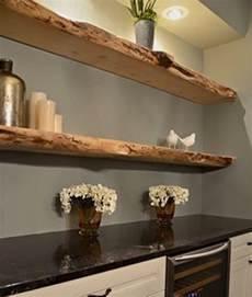 Mensola a scomparsa in legno massello artigianale di