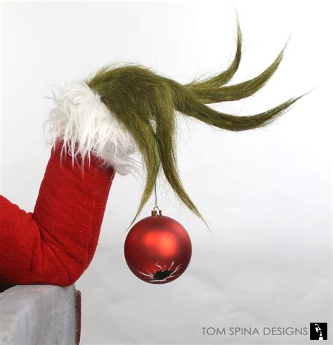 grinch makeup appliance display bust tom spina designs