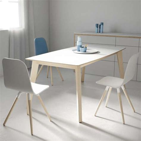 table en verre moderne table moderne extensible en verre forme rectangle elliptique eclipse 4 pieds tables