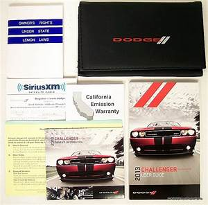 2013 Dodge Challenger Srt8 Owners Manual Guide Portfolio