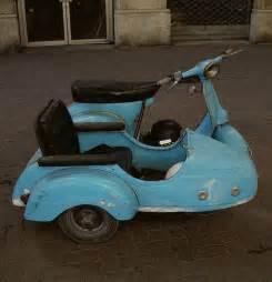 Vintage Vespa with Sidecar