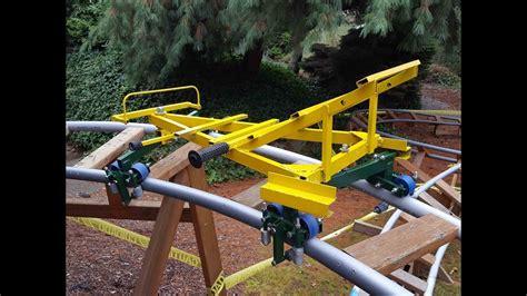 Backyard Roller Coaster For Sale by Secrets Of Backyard Roller Coaster Design And A Yard Tour
