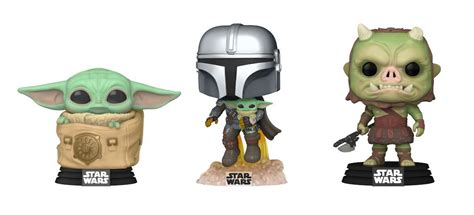 Star Wars: The Mandalorian Gets Three New Funko Pops With ...