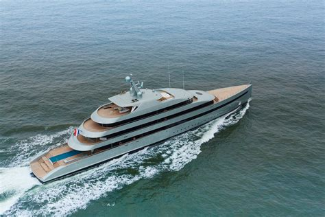 worlds  hybrid superyacht  sea