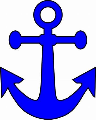 Clip Anchor Stencil Clipart Nautical Ship Printable