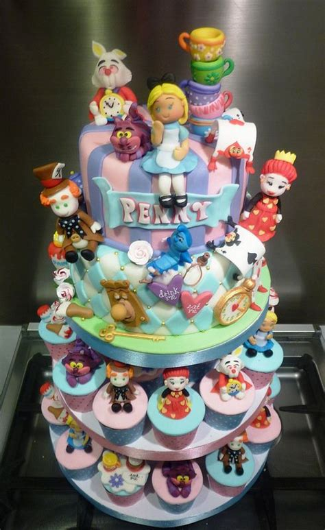Check spelling or type a new query. Alice in Wonderland Cake and Cupcake Tower   Alice in ...
