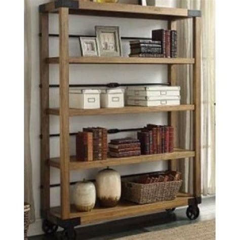 industrial bookcase on wheels industrial bookcase vintage portable bookshelf display