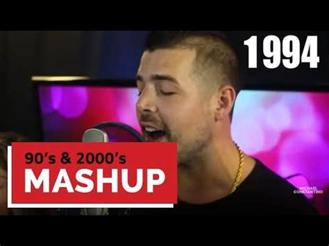 michael constantino mashup lyrics guy sings every hit song from 2000 2016 over one beat r