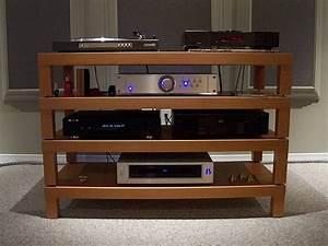 Hifi Tv Rack : awesome home built hifi rack made of ikea lack coffee ~ Michelbontemps.com Haus und Dekorationen