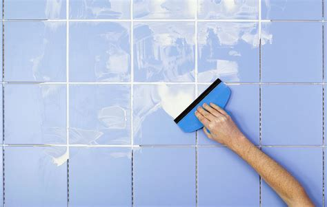 how to regrout tile