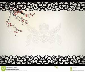 Chinese Window Frame Stock Vector Image45687804
