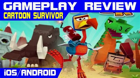 CARTOON SURVIVOR HD - GAMEPLAY REVIEW HD 1080p [iOS ...