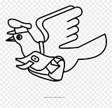 Pigeon Line Pinclipart Clipart Coloring Clip Willems sketch template