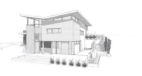 modern home architecture sketches design ideas