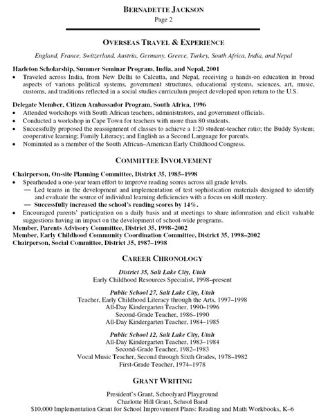 resume 57 trainer resume sle skills on