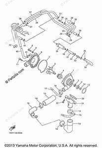 Yamaha Motorcycle 1999 Oem Parts Diagram For Water Pump