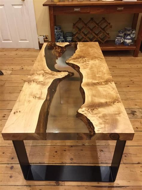 coin cast resin for table tops wood table design wood