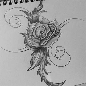 Rose Tattoo Tribal Drawing -cassandrawilsonenvyd by ...