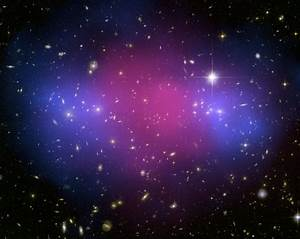 PHOTO IN THE NEWS: Cluster Smashup Is Dark Matter Proof