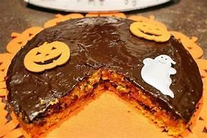 Recette Halloween Salé : gateau carotte chocolat d 39 halloween au thermomix facile ~ Melissatoandfro.com Idées de Décoration