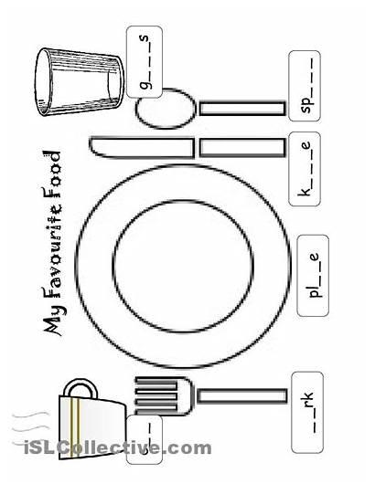 Worksheets Kindergarten Utensils Healthy Worksheet Printable Kitchen