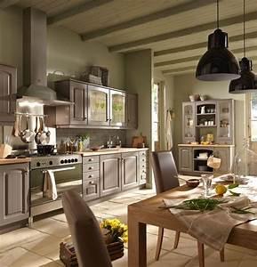 Cuisine Style Ancien : d co cuisine campagne c t maison ~ Teatrodelosmanantiales.com Idées de Décoration