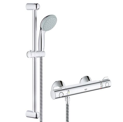 Grohe Grotherm 800 G800 Ev Thermostatic Bar Mixer Shower