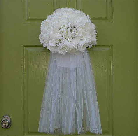 Wedding Wreath Bridal Veil Wreath Wedding Shower