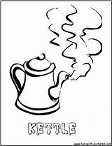 Coloring Kettle Steam Emiji Mad Printable Designlooter Template sketch template
