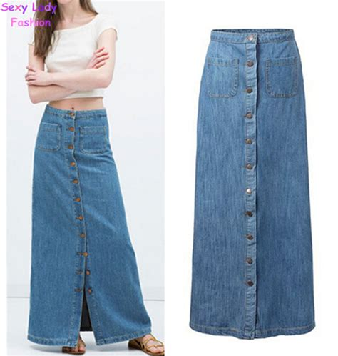 light blue jean skirt aliexpress com buy 2015 new summer vintage light blue