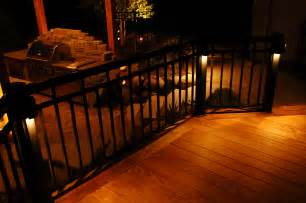 ideas for deck lighting backyard patio and deck designs home citizen