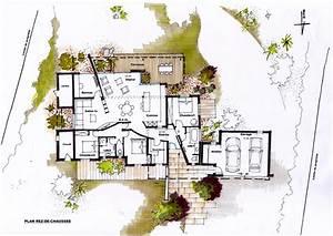 architecte renovation d39une maison a roquevaire With plan maison avec jardin interieur 9 chambre etudiant dans le jardin