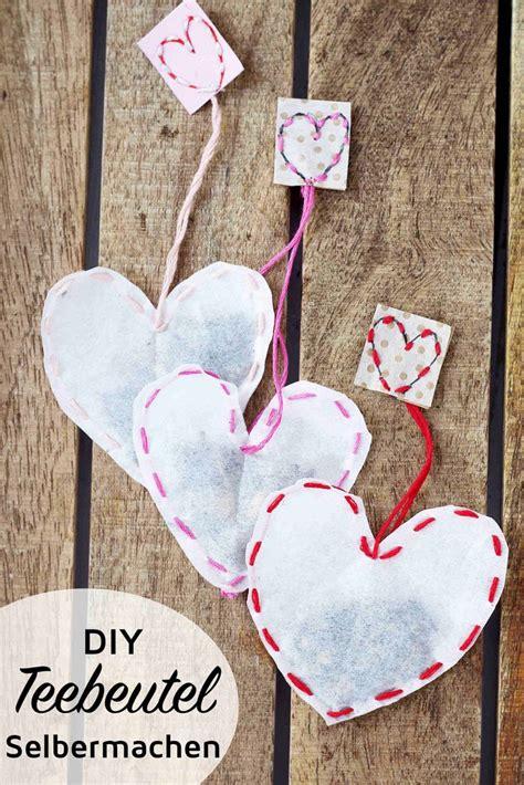 teebeutel selber machen kreative diy geschenkidee craft