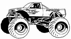 Pickup Truck Coloring Pages