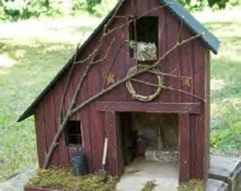 Farmhouse Primitive Birdhouse Rustic Amish
