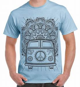 Vw T Shirts : hippie van vw camper large print men 39 s t shirt camping ~ Jslefanu.com Haus und Dekorationen