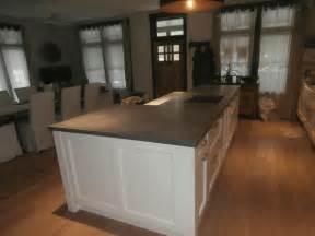 raised kitchen island concrete kitchen island raised bar countertop custom
